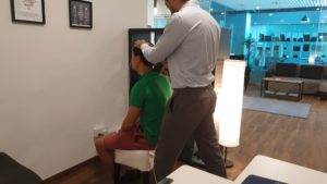 Conditions Improve With Upper Cervical scanning male patient